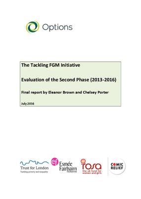 The Tackling FGM Initiative: Evaluation of the Second Phase (2013-2016)