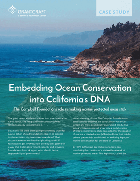Embedding Ocean Conservation into California's DNA
