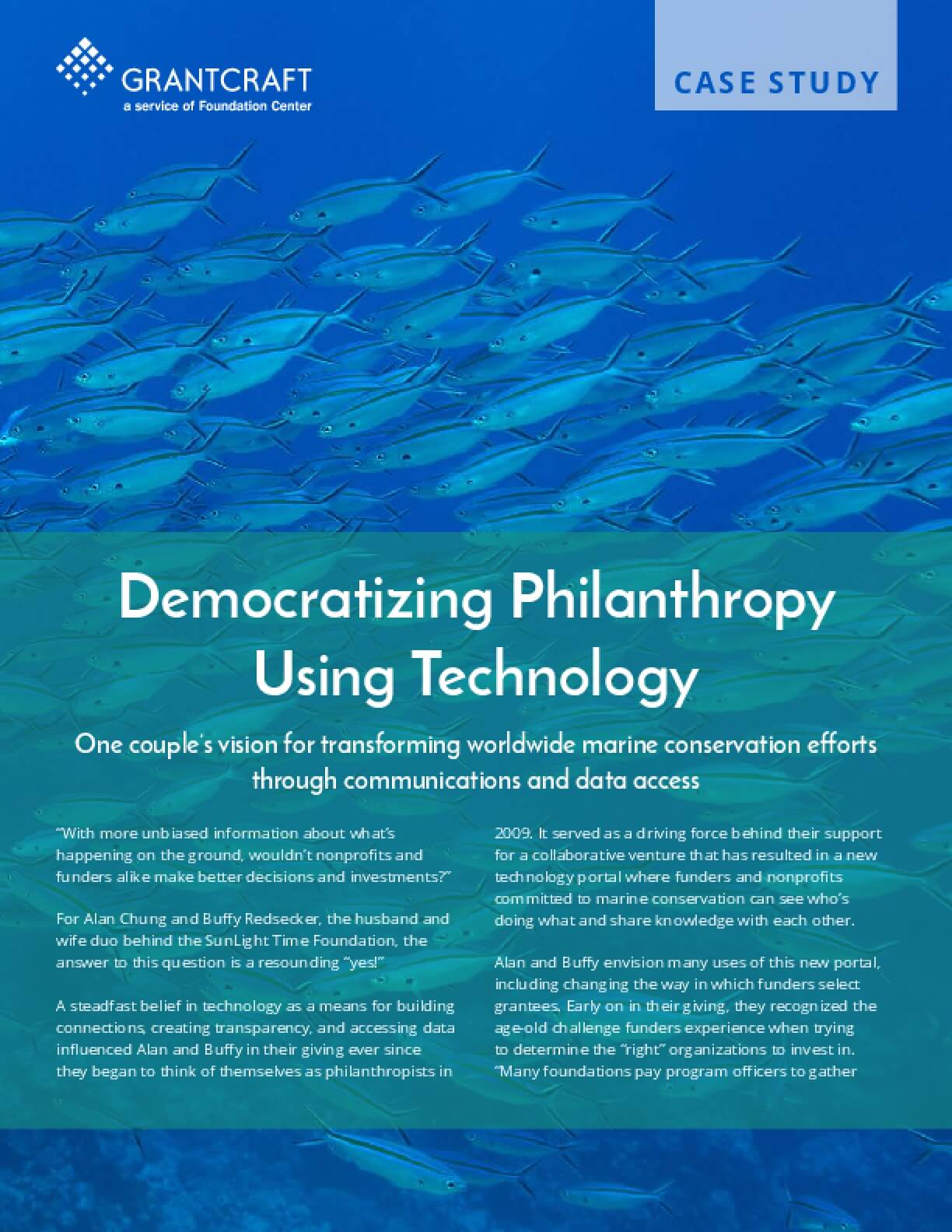 Democratizing Philanthropy Using Technology