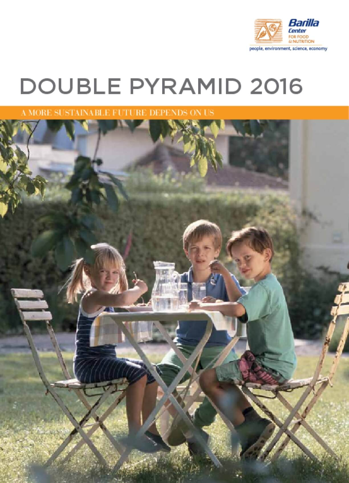 Double Pyramid 2016 : A More Sustainable Future Depends on Us