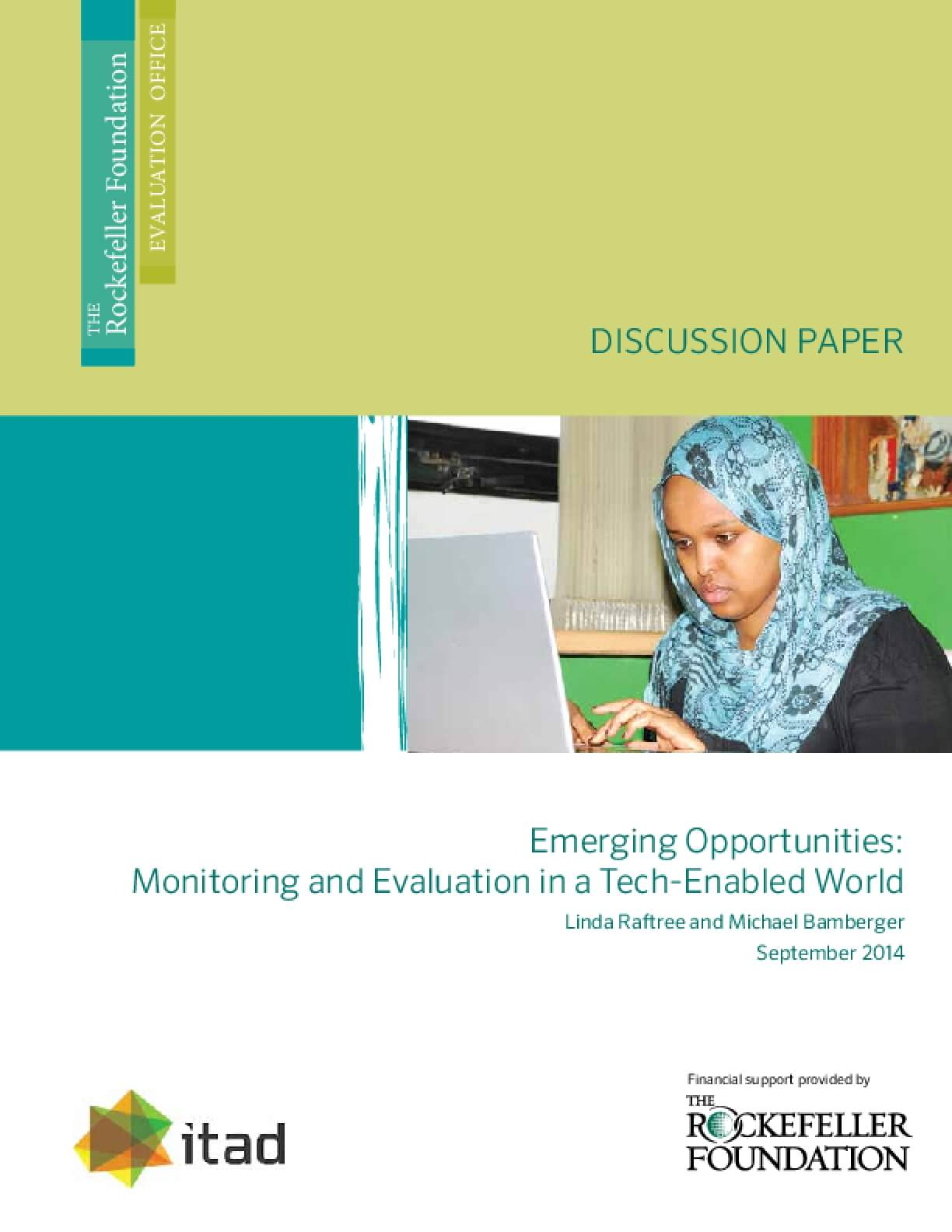 Emerging Opportunities: Monitoring and Evaluation in a Tech-Enabled World