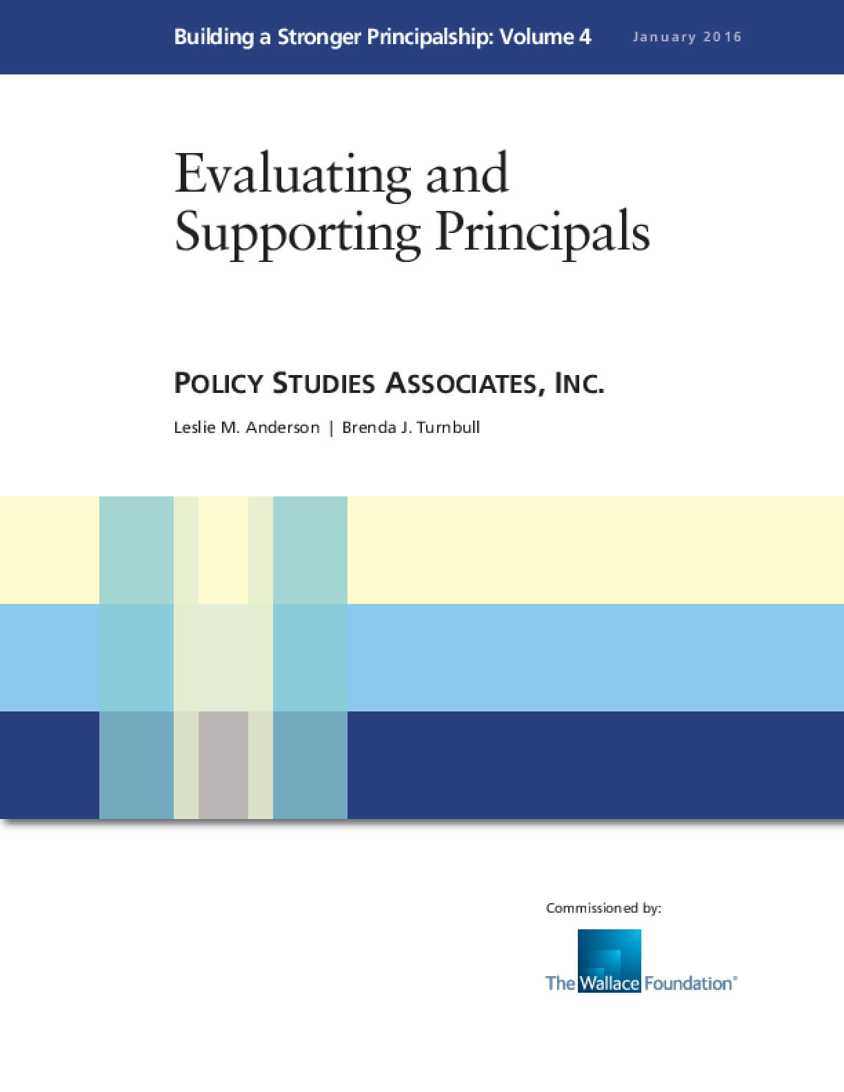 Evaluating and Supporting Principals