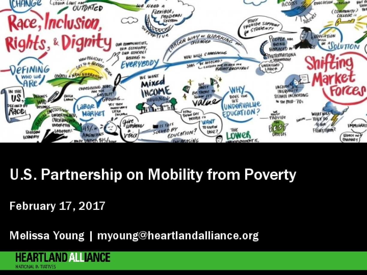 Presentation Slides: US Partnership on Mobility from Poverty