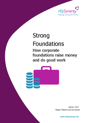 Strong Foundations: How Corporate Foundations Raise Money and Do Good Work