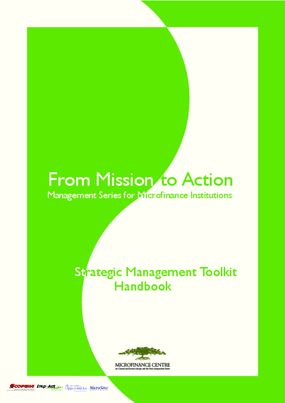 From Mission to Action: Management Series for Microfinance Institutions