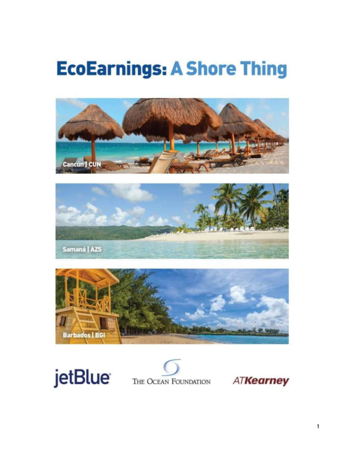 EcoEarnings: A Shore Thing