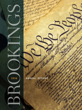 Brookings 2016 Annual Report