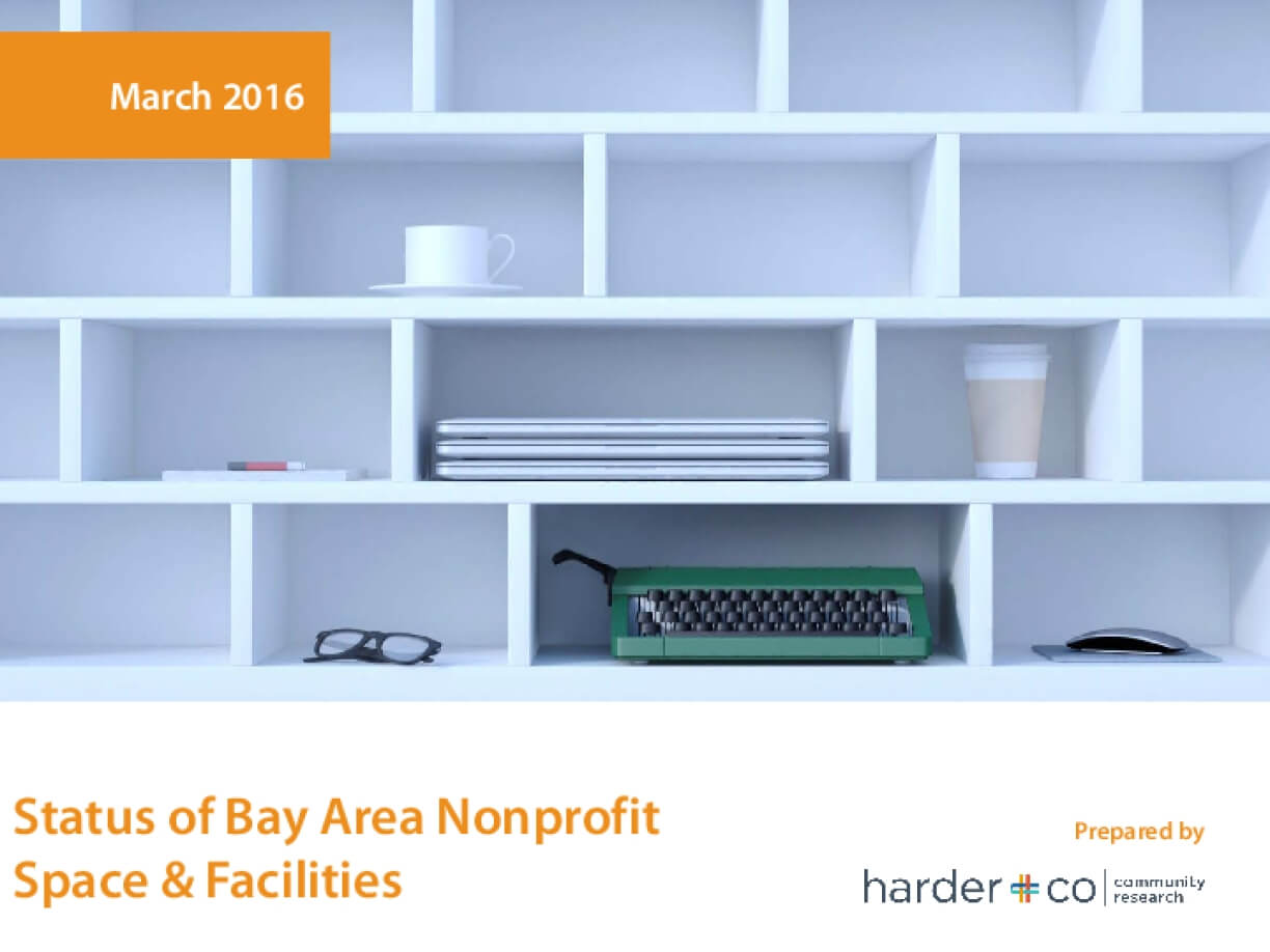 Status of Bay Area Nonprofit Space & Facilities