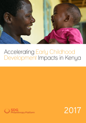 Accelerating Early Childhood Development Impacts in Kenya