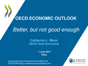 OECD Economic Outlook: Better, But Not Good Enough