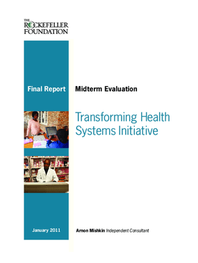 Transforming Health Systems Initiative: Midterm Evaluation