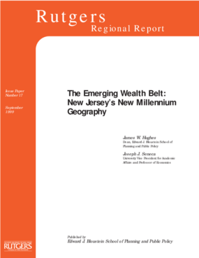 The Emerging Wealth Belt: New Jersey's New Millenium Geography