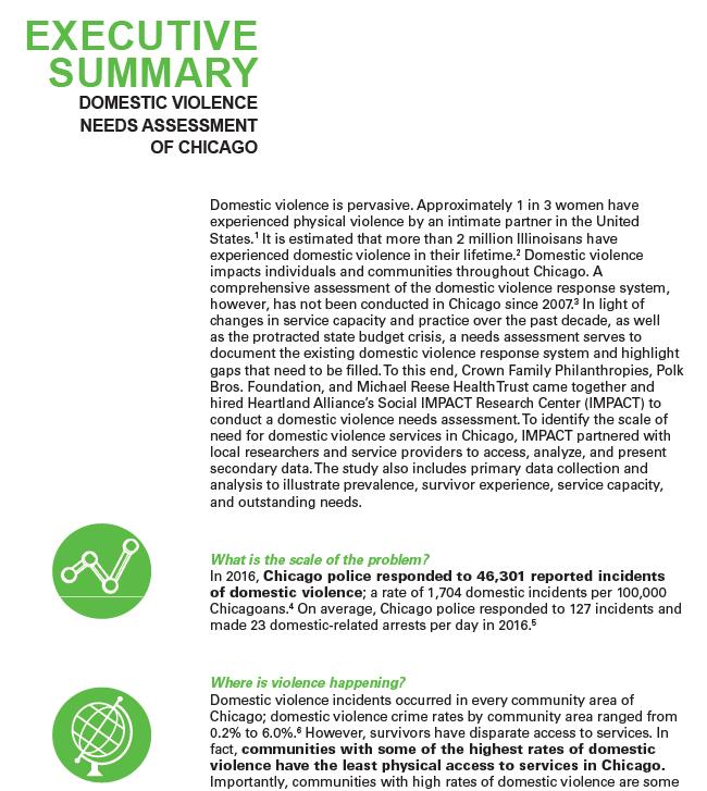 Executive Summary (DV Landscape)