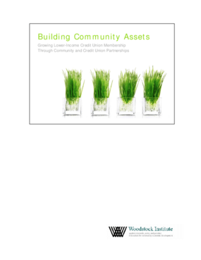 Building Community Assets: Growing Lower-Income Credit Union Membership through Community and Credit Union Partnerships