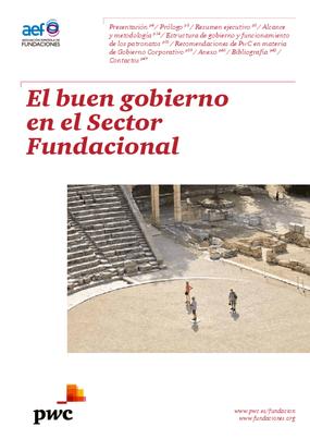 El buen gobierno en el Sector Fundacional