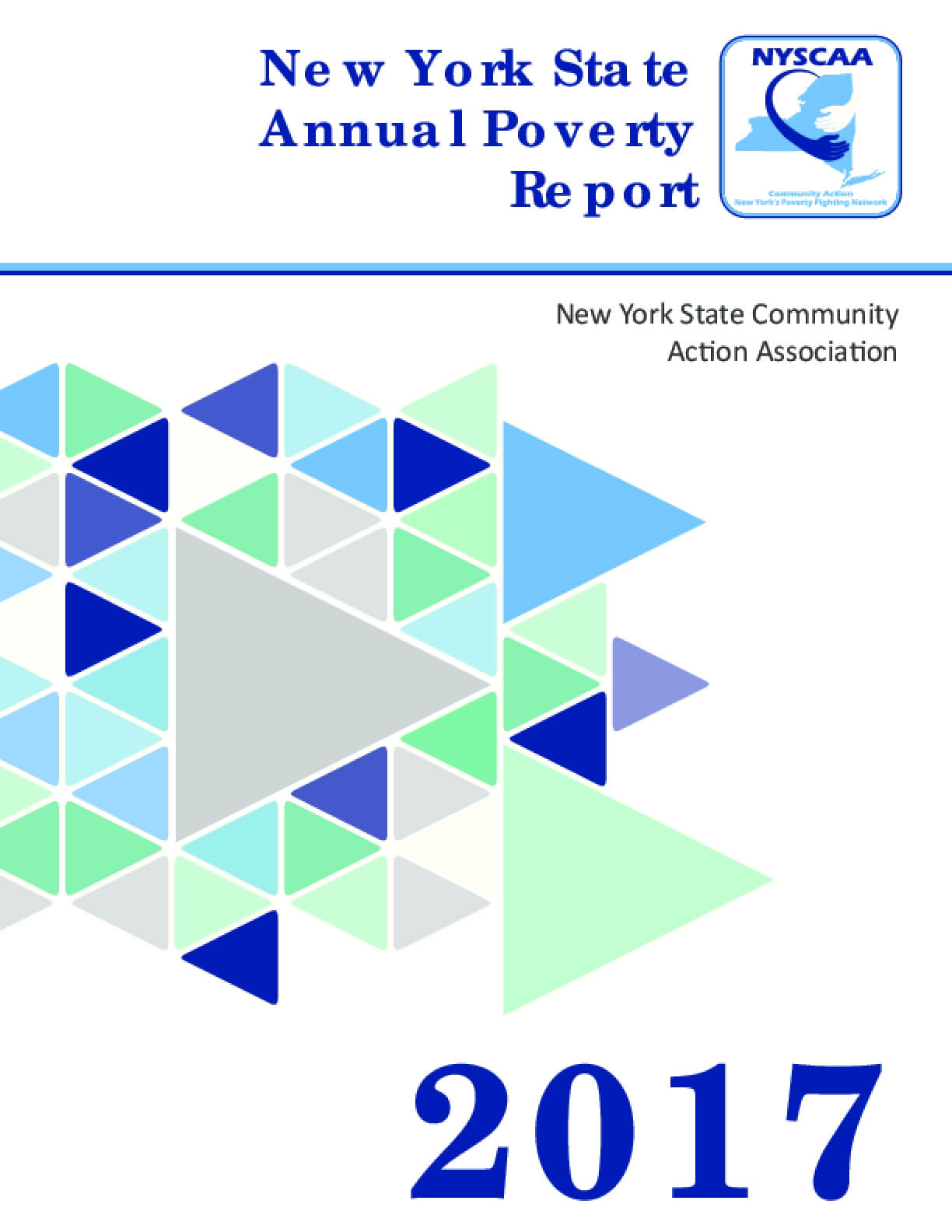 New York State Annual Poverty Report 2017