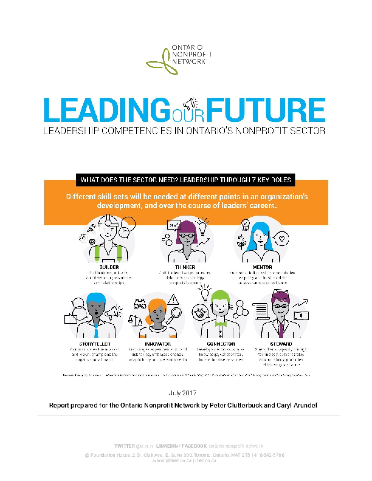 Leading Our Future: Leadership Competencies in Ontario's Nonprofit Sector
