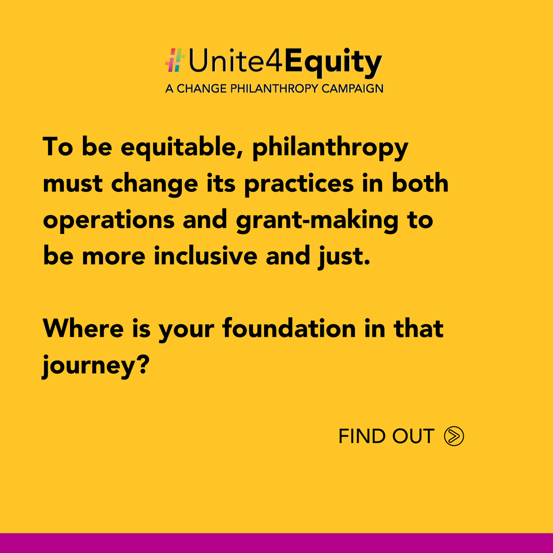 Find out where you are in your journey towards equity.