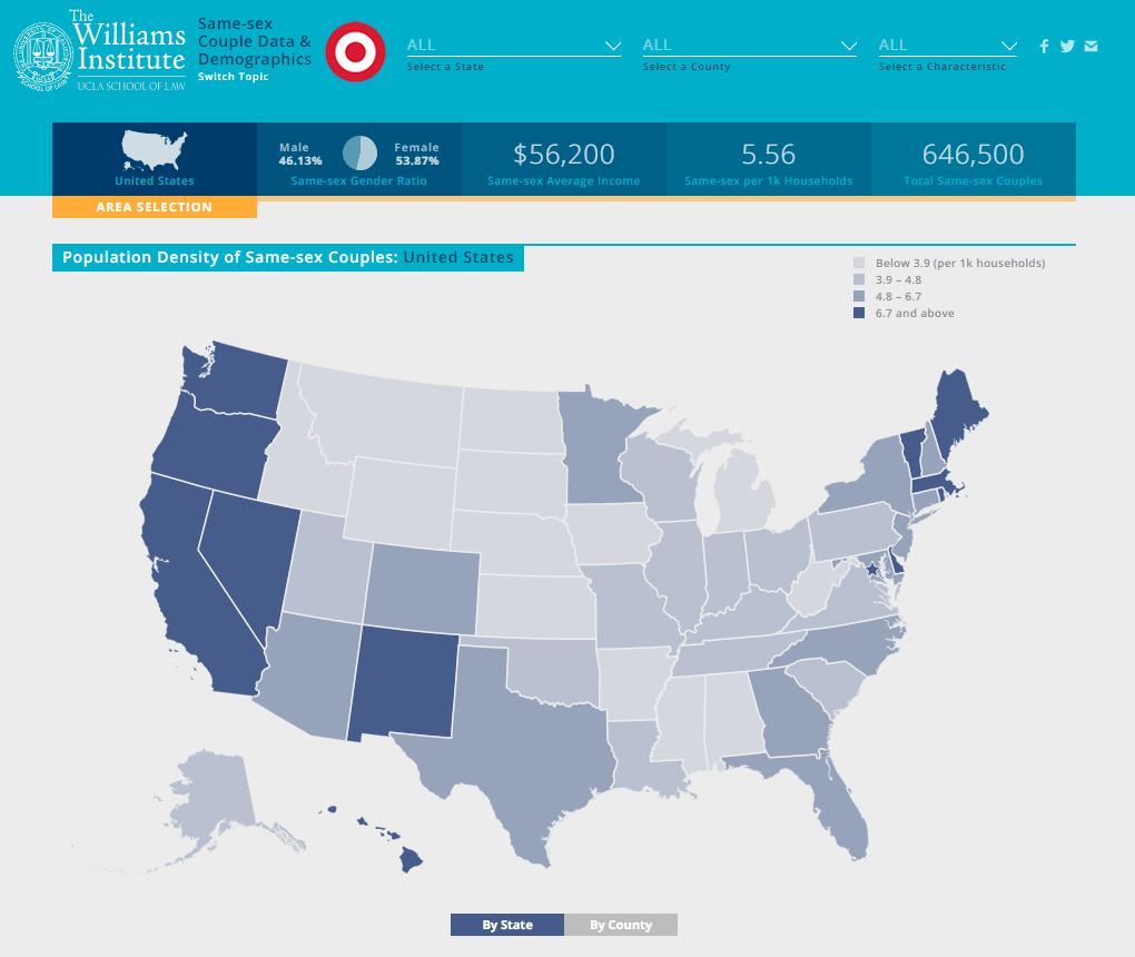 LGBTStats Demographic Data Site