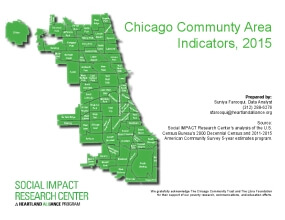 Chicago Communty Area Indicators, 2015
