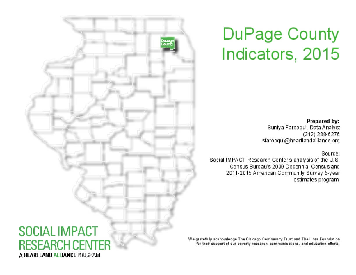 DuPage County Indicators, 2015