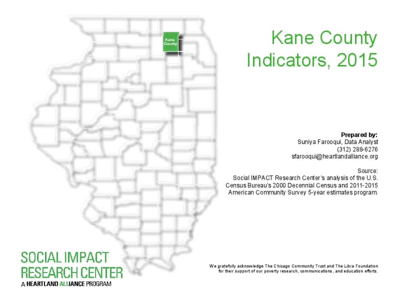 Kane County Indicators, 2015