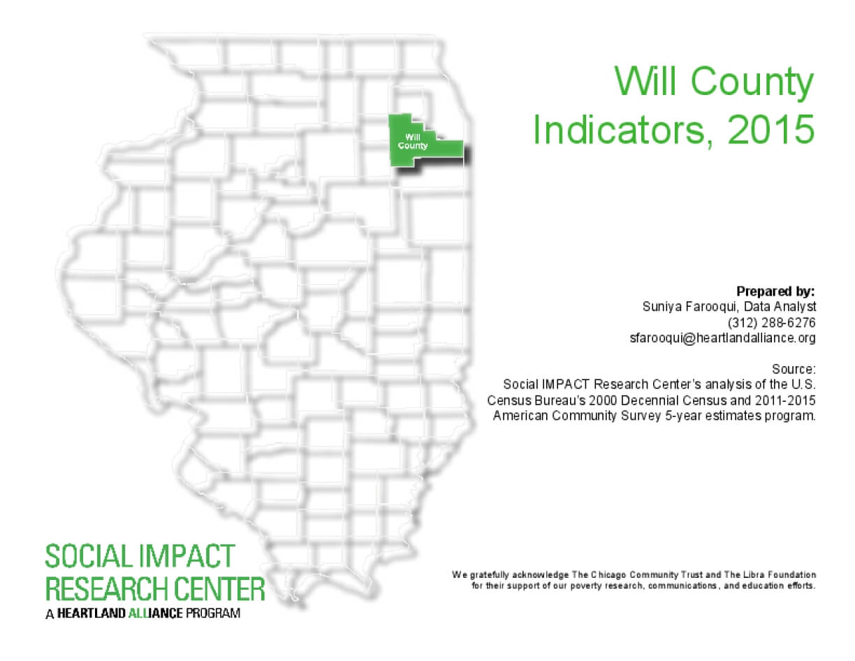 Will County Indicators, 2015