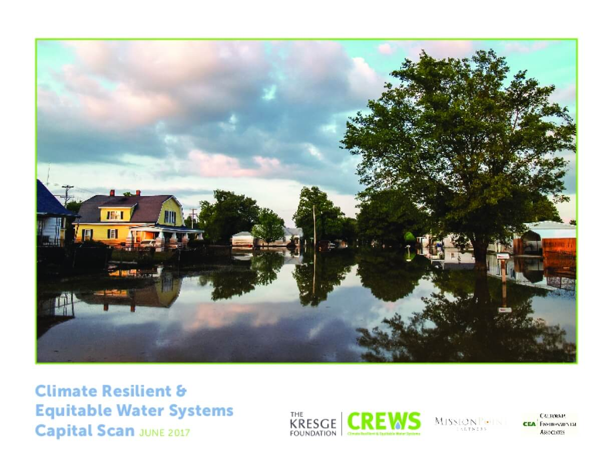 Climate Resilient & Equitable Water Systems Capital Scan