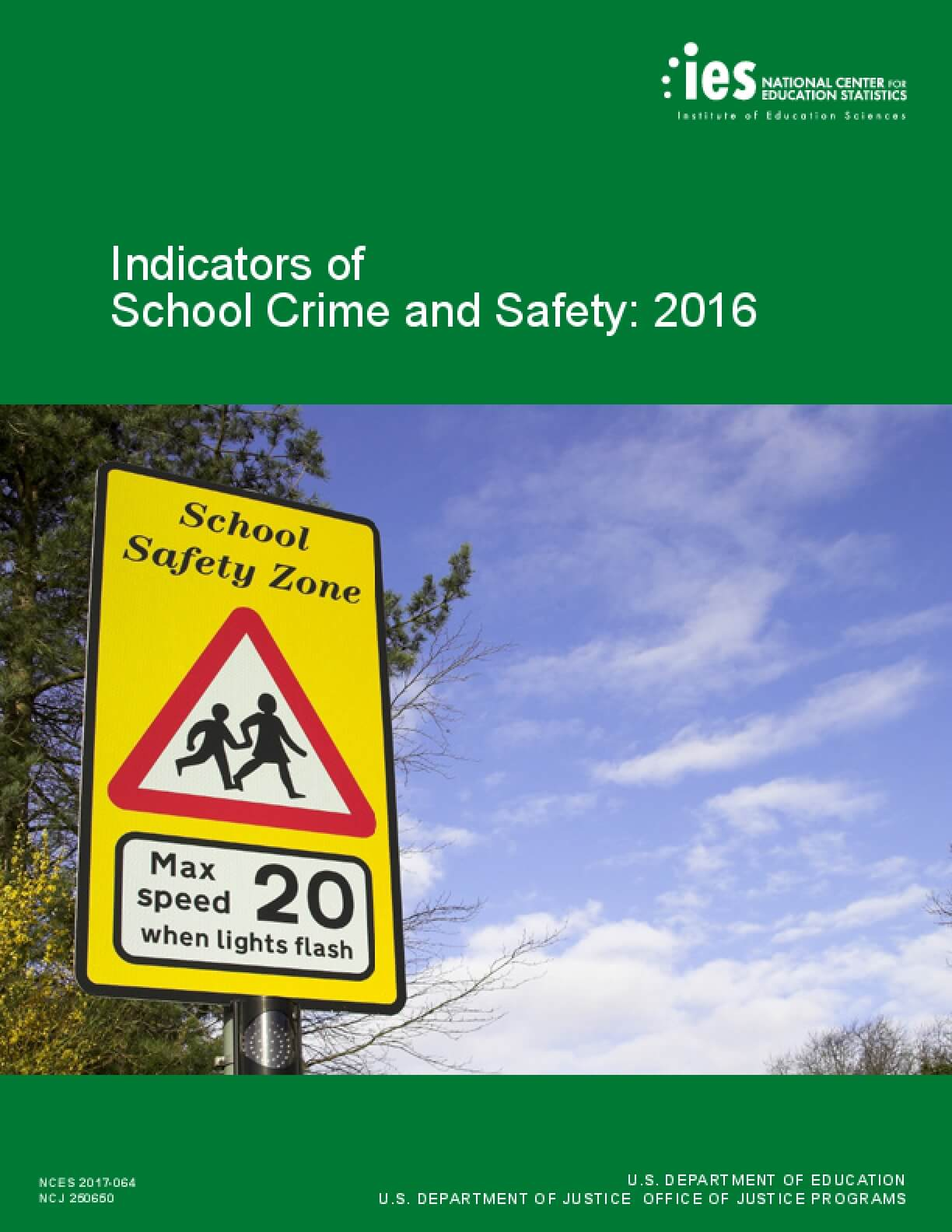 Indicators of School Crime and Safety: 2016