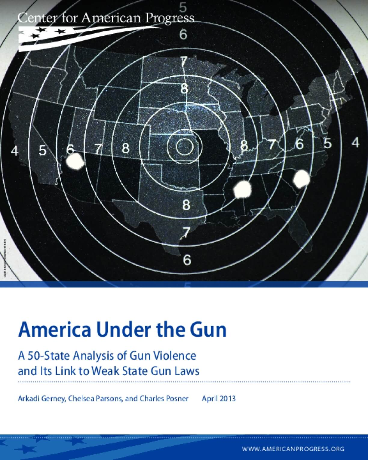 America Under the Gun: A 50-State Analysis of Gun Violence and its Link to Weak State Gun Laws