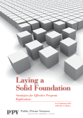 Laying a Solid Foundation: Strategies for Effective Program Replication
