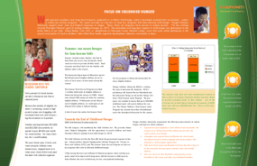 Keeping Food on the Table; A Quarterly Review of the State of Hunger in Minnesota; 1st Quarter 2009; Child Hunger