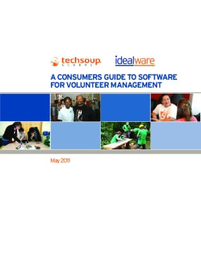 A Consumers Guide to Software for Volunteer Management