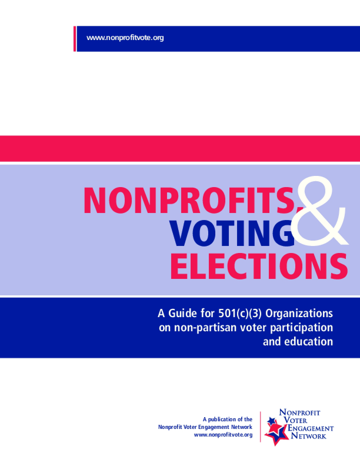 Nonprofits, Voting & Elections