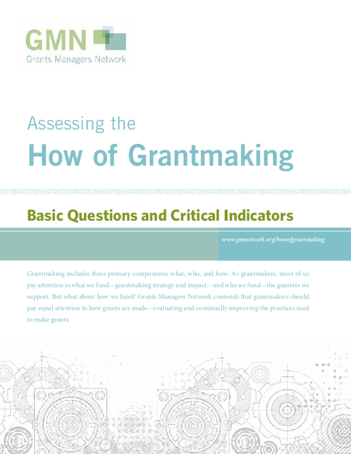 Assessing the How of Grantmaking: Basic Questions and Critical Indicators