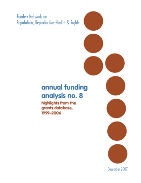 Annual Funding Analysis No. 8: Highlights From the Grants Database, 1996-2006