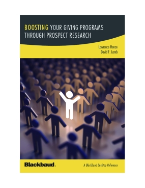 Boosting Your Giving Programs Through Prospect Research