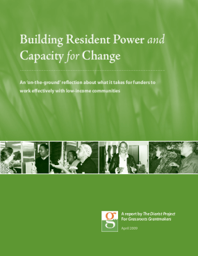 Building Resident Power and Capacity for Change