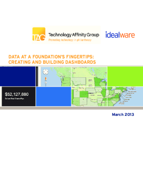 Data At a Foundation's Fingertips: Creating and Building Dashboards