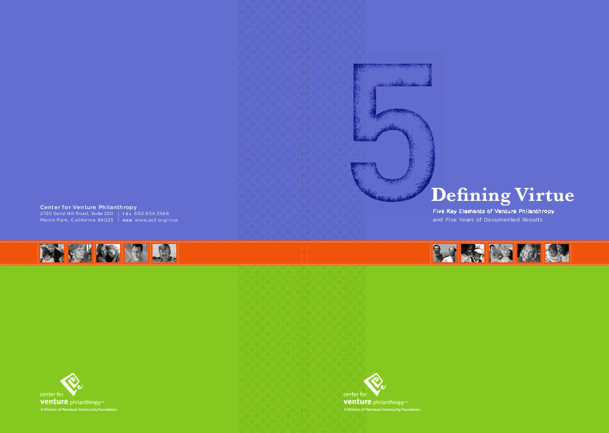 Defining Virtue: Five Key Elements of Venture Philanthropy and Five Years of Documented Results