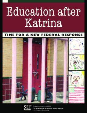 Education After Katrina: Time for a New Federal Response