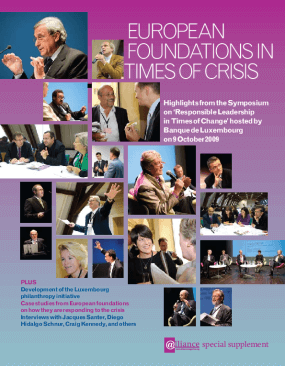 European Foundations in Times of Crisis