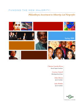 Funding the New Majority: Philanthropic Investment in Minority-led Nonprofits