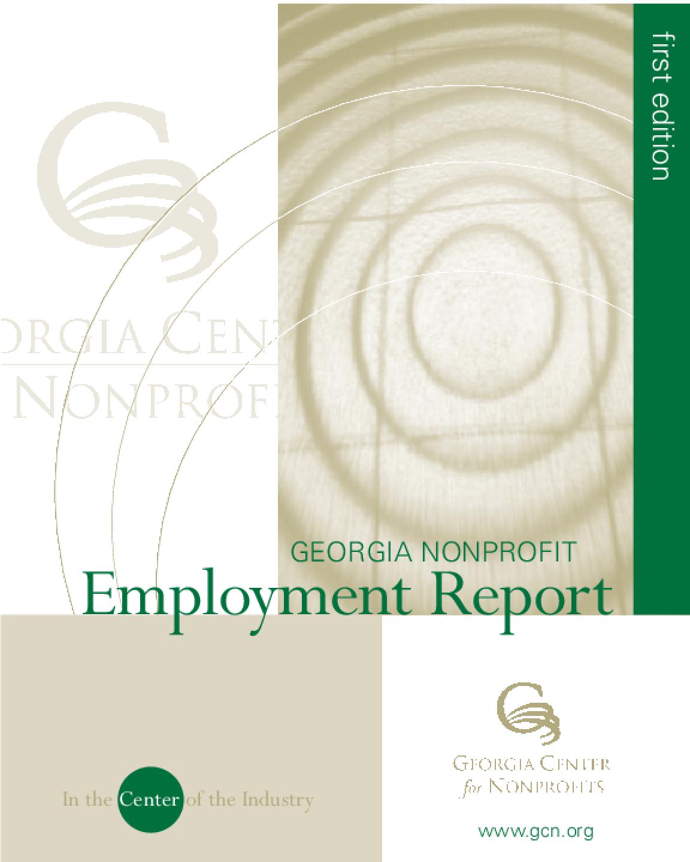 Georgia Nonprofit Employment Report
