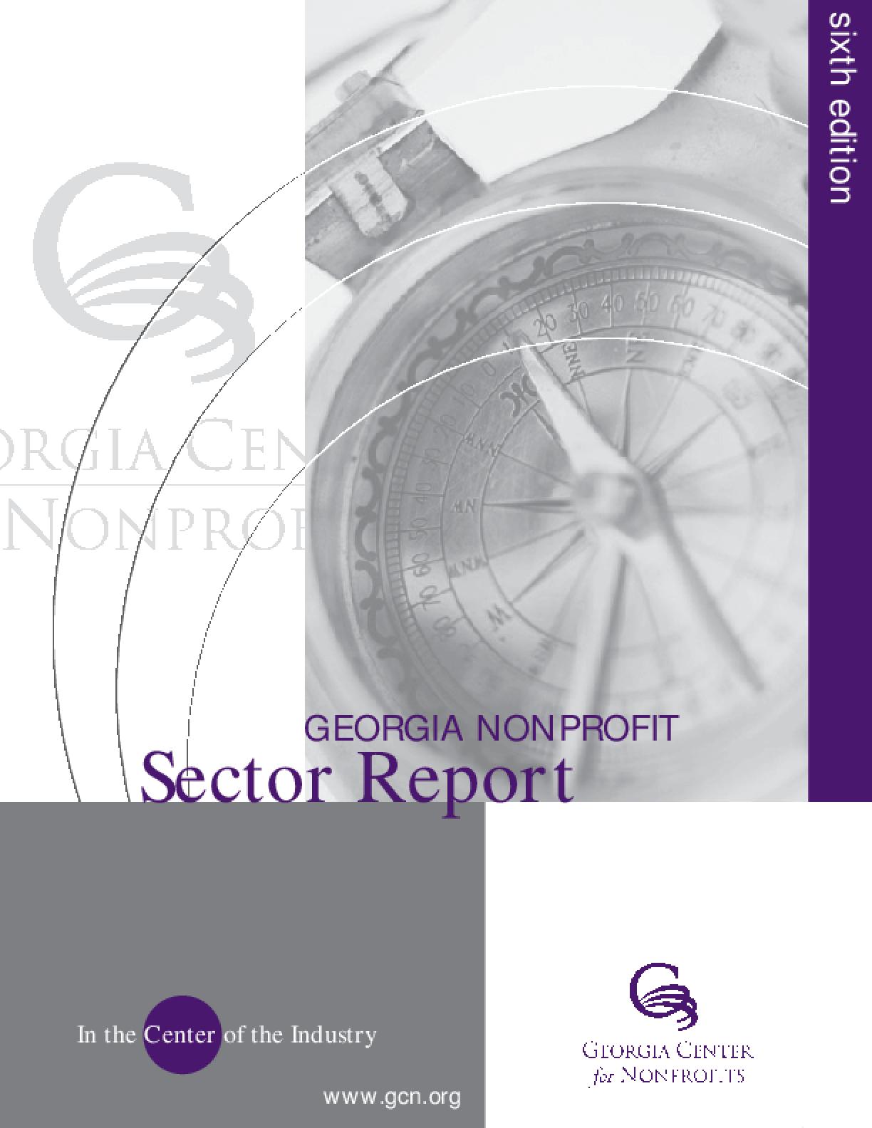Georgia Nonprofit Sector Report