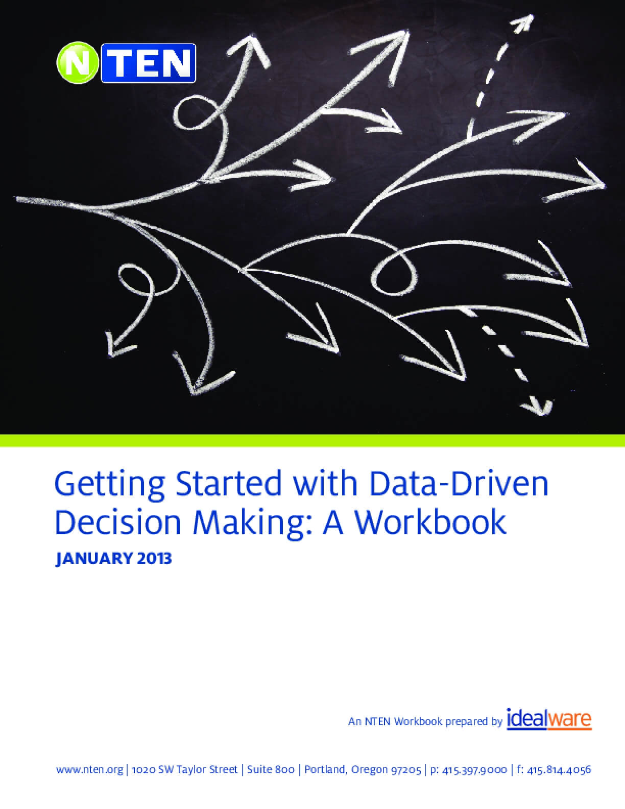 Getting Started With Data-driven Decision Making: A Workbook