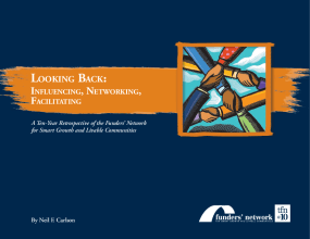 Looking Back: Influencing, Networking, Facilitating