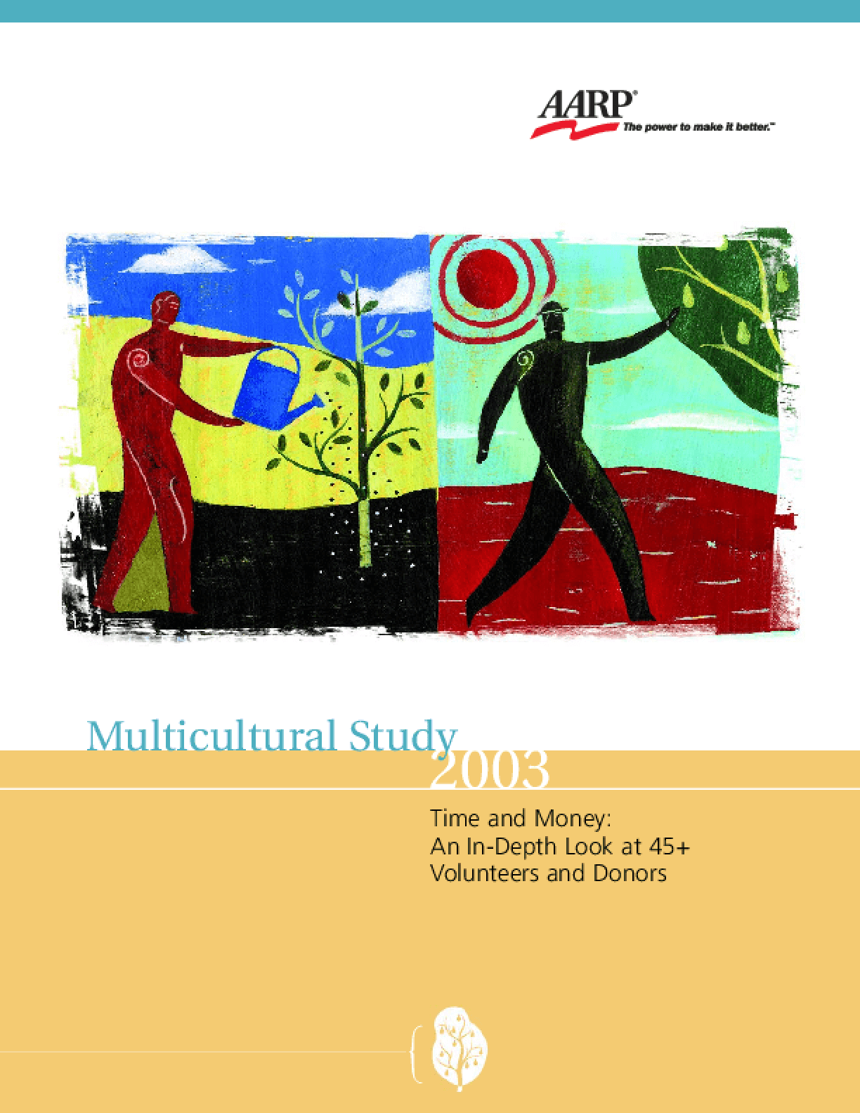 Multicultural Study 2003 Time and Money: an In-depth Look At 45+ Volunteers and Donors