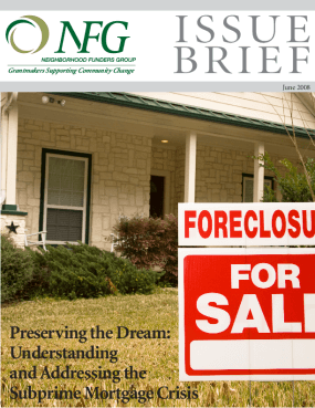 Preserving the Dream: Understanding and Addressing the Subprime Mortgage Crisis