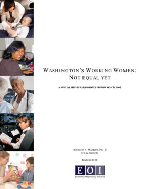 Washington's Working Women: Not Equal Yet